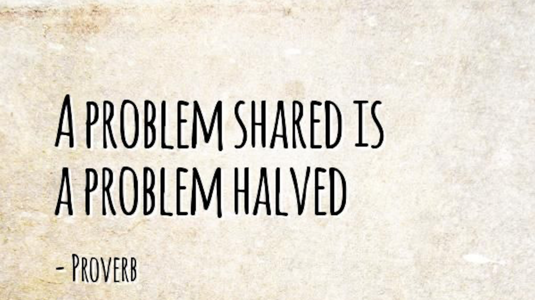 A Problem Shared is a Problem Halved in Family Counselling